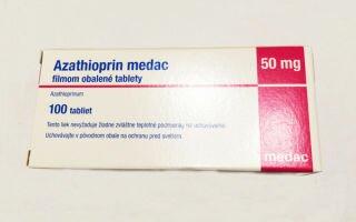 Азатиоприн — инструкция по применению, аналоги, отзывы и формы выпуска (таблетки 50 мг) лекарства для лечения ревматоидного артрита, псориаза, дерматомиозита, профилактики отторжения трансплантата у взрослых, детей и при беременности